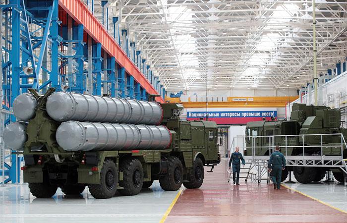 Турция желает приобрести у РФ комплексы C-400