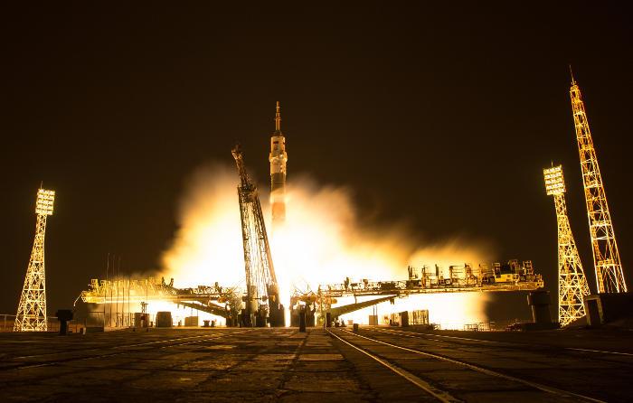 """Корабль """"Союз МС-03"""" доставил на МКС очередную экспедицию"""