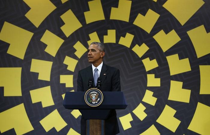Обама поведал освоем разговоре сПутиным