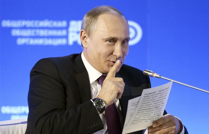 Путин засекретил данные обэкспорте оружия