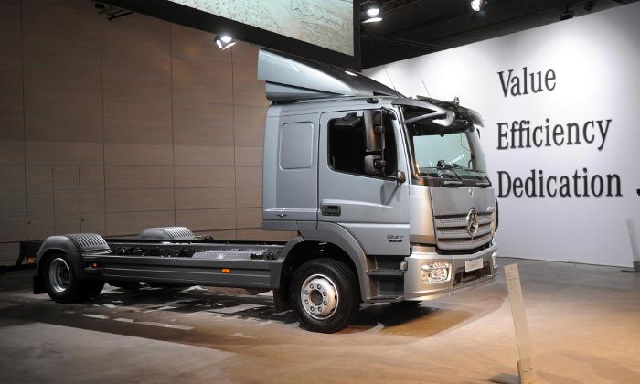 Минтранс рассматривает возможность введения «Платона» для 3,5-тонных машин