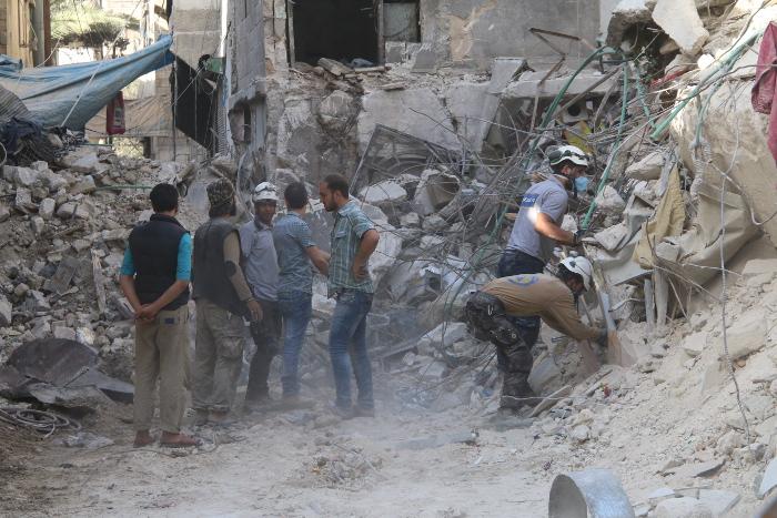 Российские военные заявили о применении боевиками химоружия в Алеппо