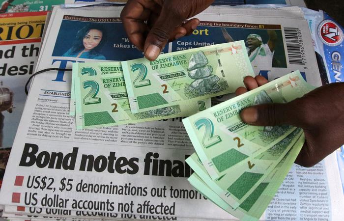 Пообразу иподобию доллару США: ВЗимбабве выпустили свою квазивалюту