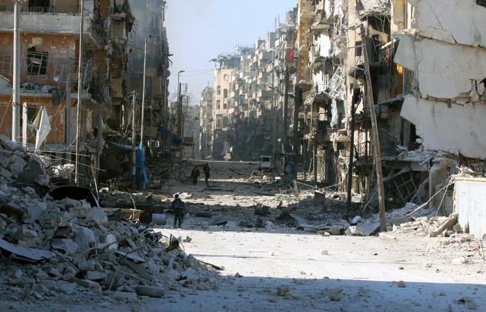 Минобороны РФ опровергло заявления о больших жертвах среди населения Алеппо