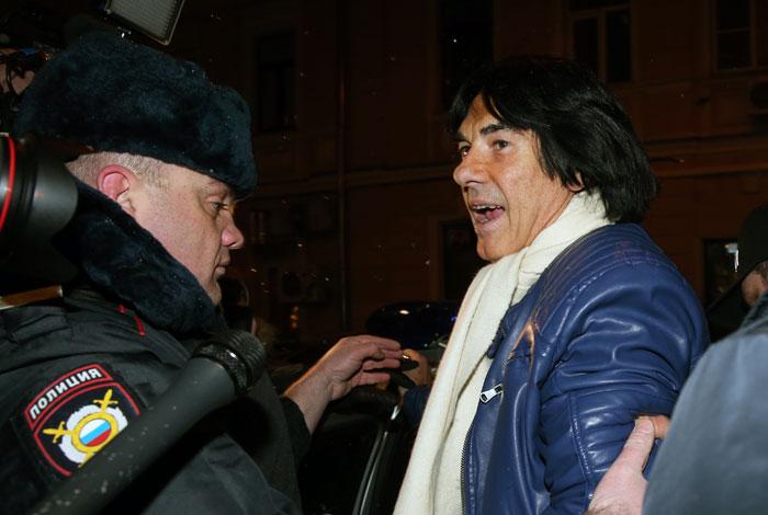 Трунова и Маруани отпустили из московской полиции с извинениями