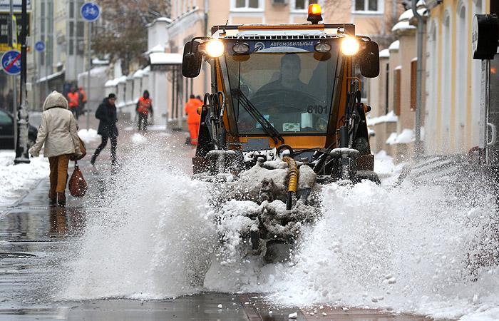 Ноябрь в РФ стал самым холодным сначала века