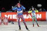 Биатлонист Бабиков выиграл гонку преследования на этапе КМ в Швеции