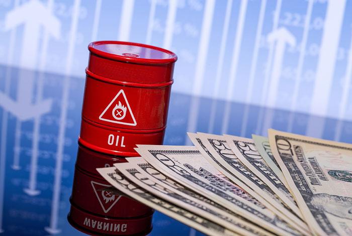 Нефть Brent торгуется ниже $54 забаррель