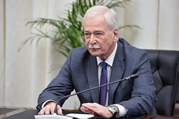 Борис Грызлов: хотел бы призвать Киев амнистировать ополченцев Донбасса до Рождества
