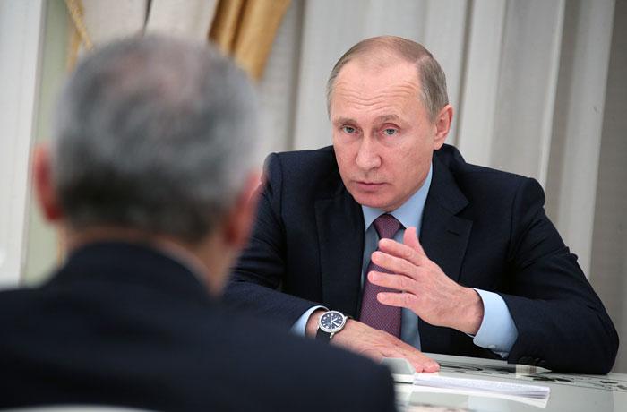 """Путин оценил решение Эрдогана ратифицировать договор по """"Турецкому потоку"""""""