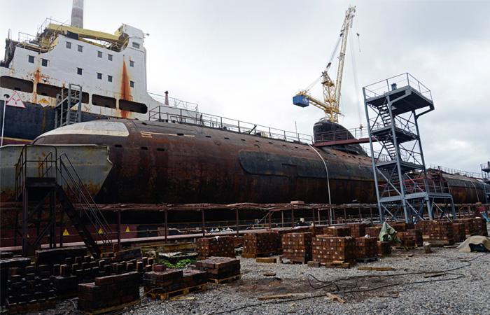 Первую советскую АПЛ в феврале снова спустят на воду