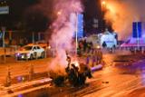 Рядом со стадионом в Стамбуле произошел взрыв