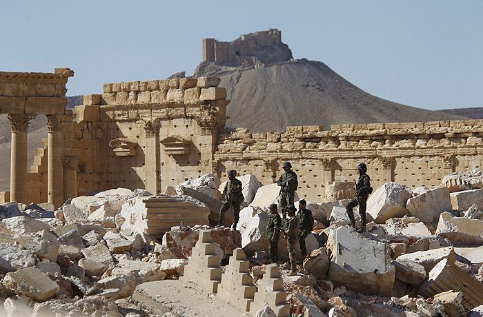 Войска ИГ вновь вошли в сирийскую Пальмиру