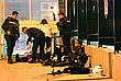 Пострадавшие турецкие полицейские