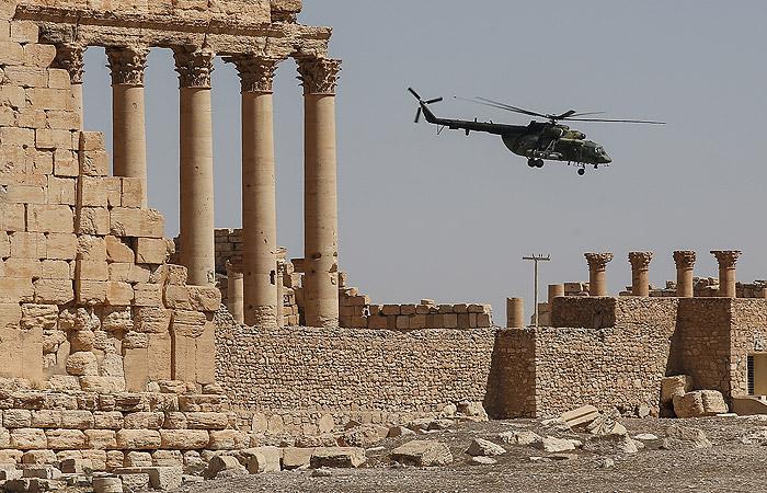 Террористы предприняли новую попытку захвата Пальмиры