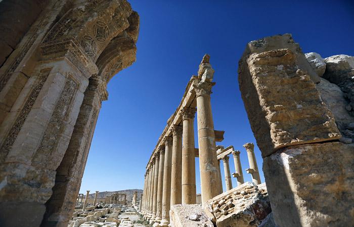 Российские ученые-археологи покинули Пальмиру в сентябре
