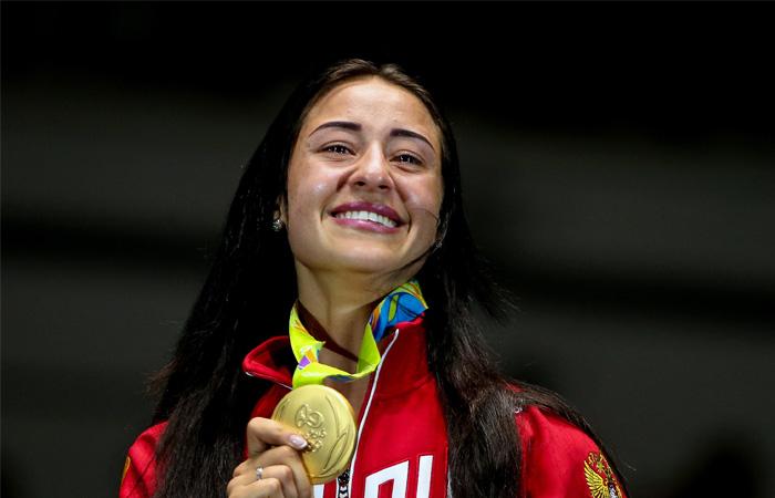 Егорян признана спортсменкой года в РФ