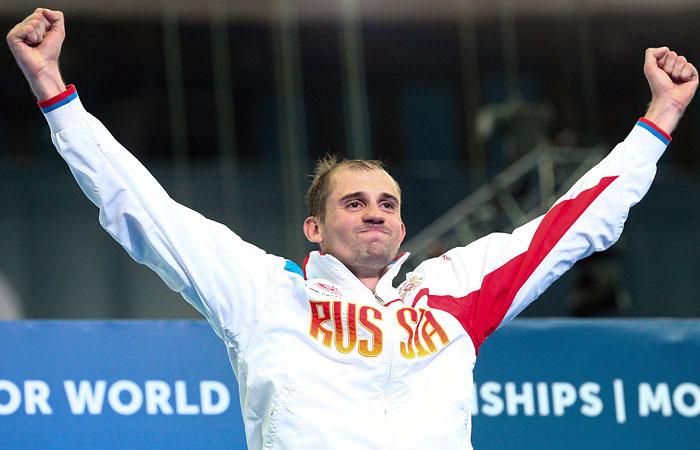 Пятиборец Александр Лесун стал спортсменом года в Российской Федерации
