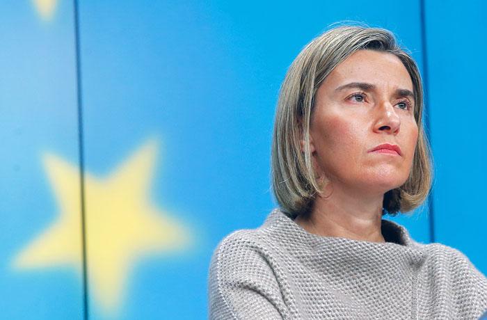 Могерини: санкцииЕС против Российской Федерации останутся независимо отпозиции США