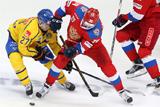 Сборная России по хоккею уступила Швеции в матче Кубка Первого канала