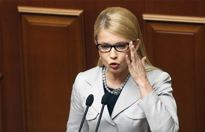 Тимошенко обвинила главу Нацбанка Украины в зачистке банковской системы
