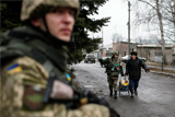 В ДНР заявили об эвакуации украинскими военными населения близ Дебальцево перед наступлением