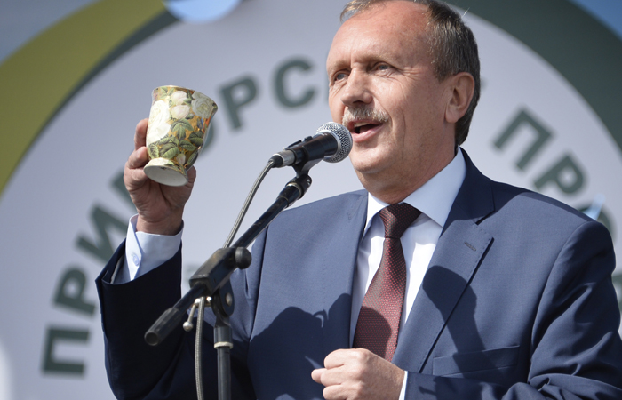 Вице-губернатор Приморья арестован на два месяца