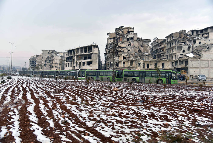 Батальон российской военной полиции переброшен в Алеппо