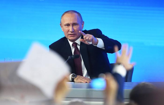 Пресс-конференция Владимира Путина. Главное.