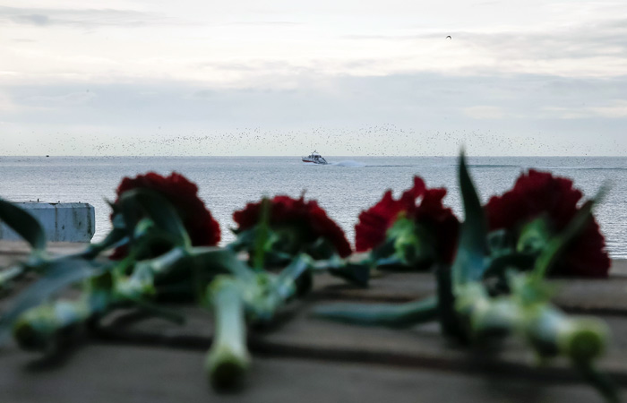 ФСБ сообщило озаписи падения Ту-154 свидеорегистратора иочевидцах
