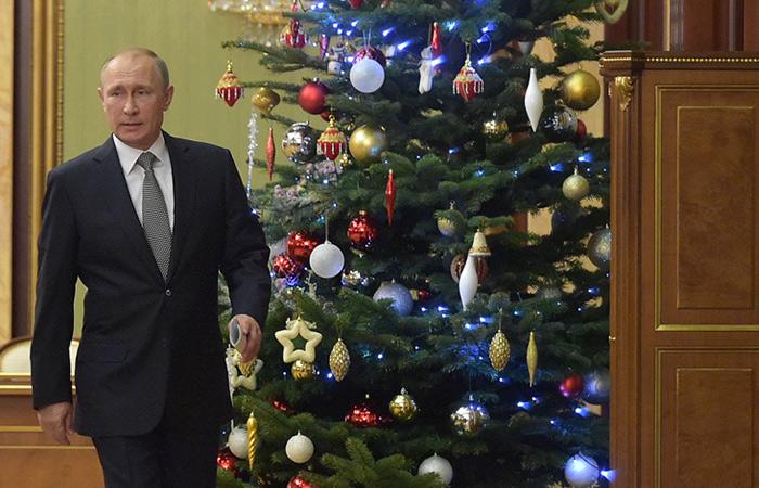 Песков рассказал о планах Путина на новогодние праздники