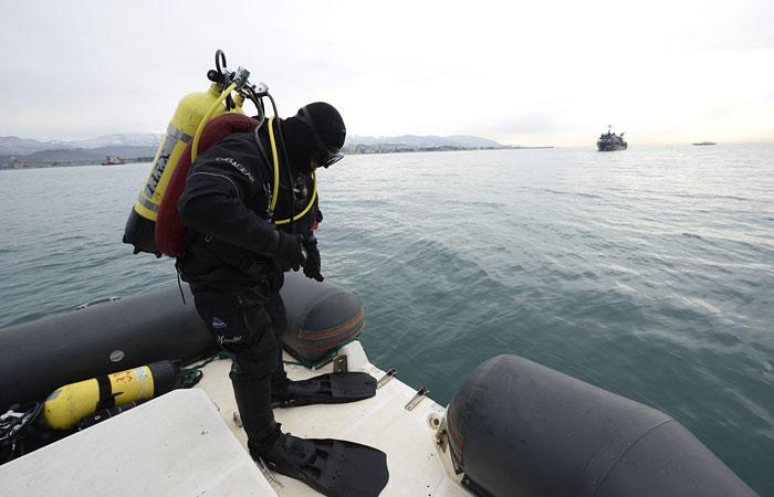 Второй самописец Ту-154 подняли со дна Черного моря