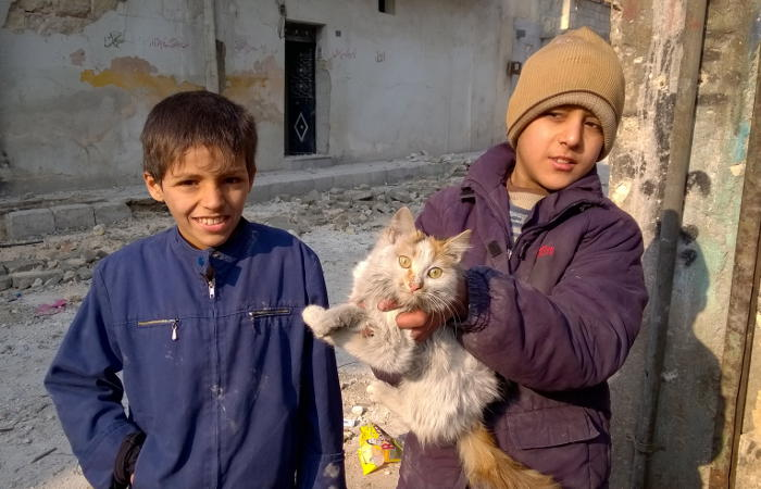 Сирийские дети вернулись домой после лечения в России