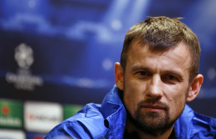 Сергей Семак, назначенный напост основного тренераФК «Уфа»