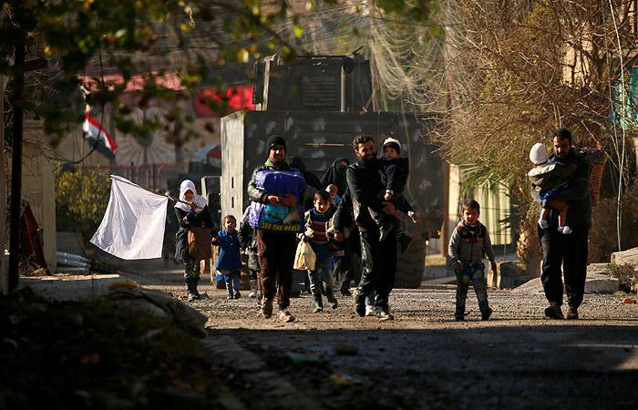 Мосул за последние пять дней покинули 13 тысяч человек