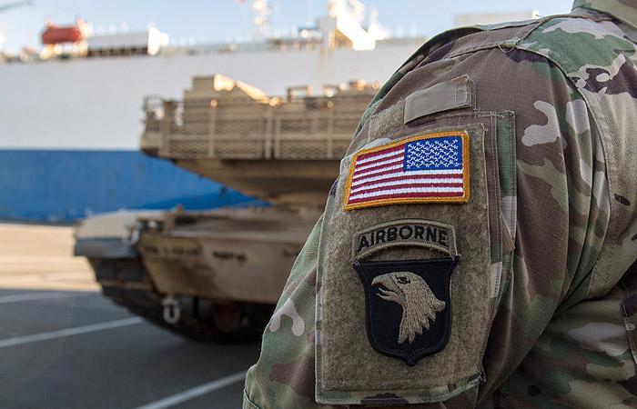 В Германию прибыли американские танки для Польши и стран Балтии
