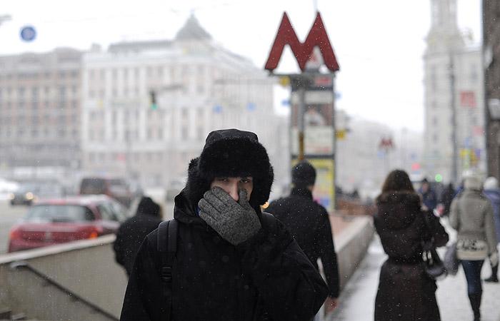 Прошедшая ночь в российской столице стала самой холодной сначала зимы