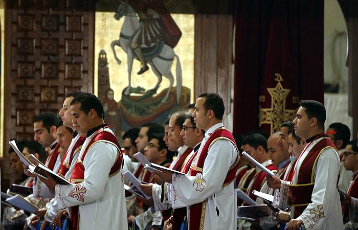 Каир. Коптский собор Святого Маркоса.