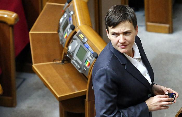 СБУ назвала недопустимым обнародование Савченко списков пленных в Донбассе