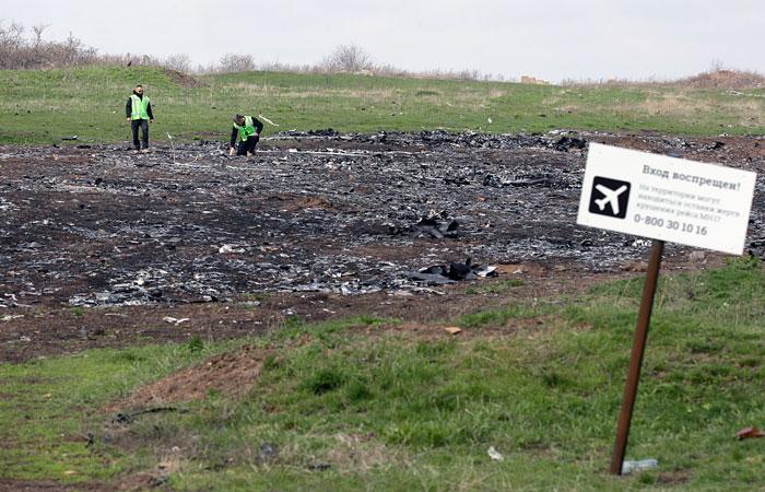 ВНидерландах у корреспондента  изъяли вывезенные сДонбасса обломки MH17