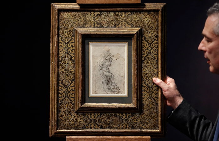 Рисунок даВинчи объявлен общенациональным достоянием Франции