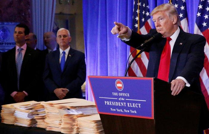 Трамп не дал журналисту CNN задать вопрос на пресс-конференции
