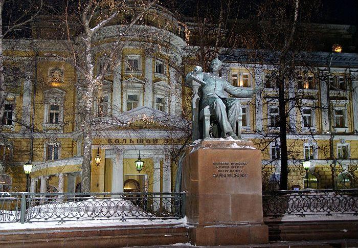 Большой зал Московской консерватории отреставрирован за182 млн руб.