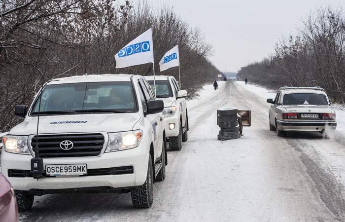 Москва согласилась на вооружение наблюдателей ОБСЕ в Донбассе стрелковым оружием