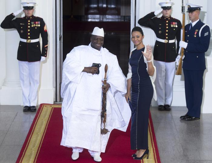 Президент Гамбии объявил чрезвычайное положение вгосударстве