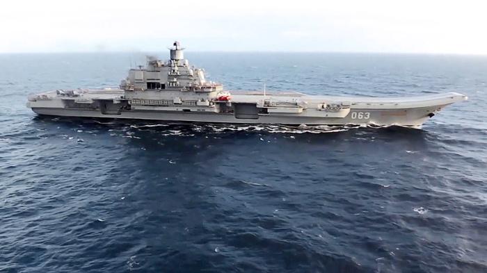 ВМС Португалии приступили к слежению за авианосной группой РФ в Атлантике