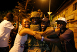 Экс-президент Гамбии покинул страну
