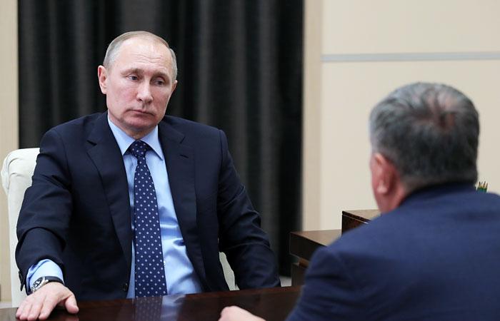 Сечин попросил В. Путина увидеться с зарубежными инвесторами «Роснефти»