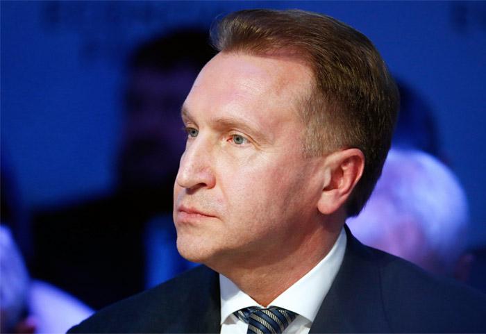 Шувалов опроверг обсуждение вопроса сокращения объемов расчетов наличными