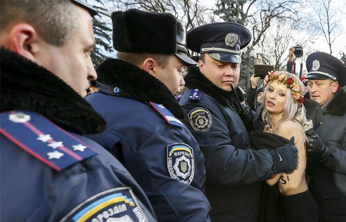 В украинском движении Femen заявили о прекращении его существования